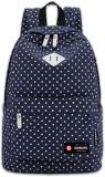 Bonmaro Polka Dots Blue 24 L Backpack (B...