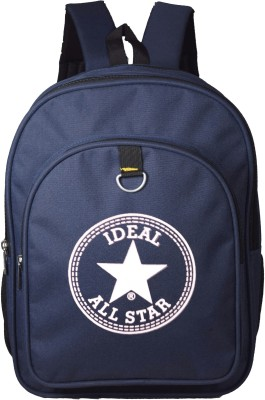 Ideal Spring Blue School/Office Casual 20 L Backpack