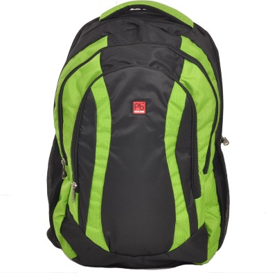 Pearl Bags Unisex Stylish Lightweight School College Bags 1940 (Green) 34 L Backpack