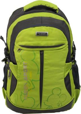 Fabion 1349 Green N Grey 36 L Large Backpack