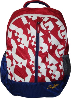Skybags Pogo 04 Red 25 L Backpack(Red)