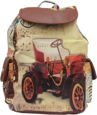 Ruff Ruff Digital Printed Casual Backpack 2.5 L Backpack