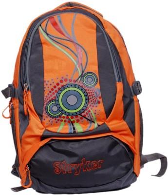 Stryker Stryker 28 Liter Laptop Bagpack - Red - Orange - Grey 28 L Laptop Backpack