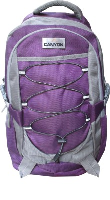 canyon Purple And Grey 5 L Backpack