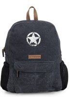 The House of Tara Rugged Distressed Canvas 18 L Laptop Backpack(Blue)