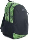Wildcraft Vault Backpack (Black, Green)