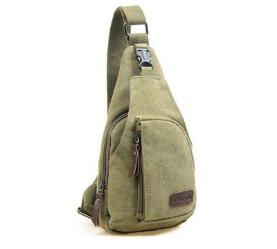 Aeoss Messenger Sling Fashion Shoulder Canvas Men Sport Casual Outdoors Hiking Travel 2 L Backpack