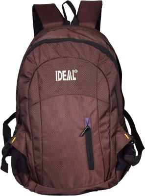 Ideal Shield Brown 25 L Laptop Backpack