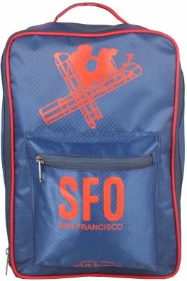 Via Harp TRAVEL FOR MEN OR WOMEN , ADJUSTABLE STRAP BAG , AIRPORT SERIES 15 L Laptop Backpack