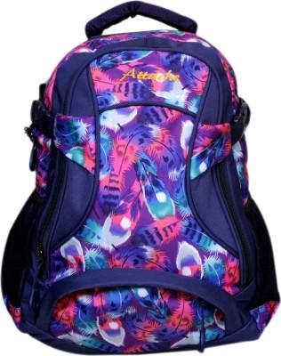 Attache Rockstar Multicolor Polyester School bag 30 L Backpack