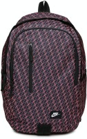Nike All Access Soleday Printed 25 L Laptop Backpack(Blue, Pink)