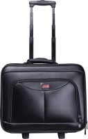 F Gear Ambition Small 23 L Trolley Backpack(Black)