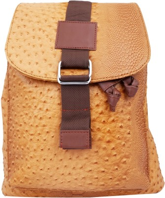 Super Drool Designer Finish Tan 5 L Backpack