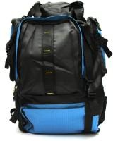Fashion Knockout Tracking bag 45 L Backpack(Black, Blue)