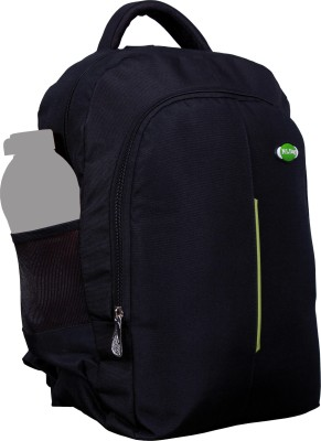 Nl Bags 16 inch Laptop Backpack(Black, Green)