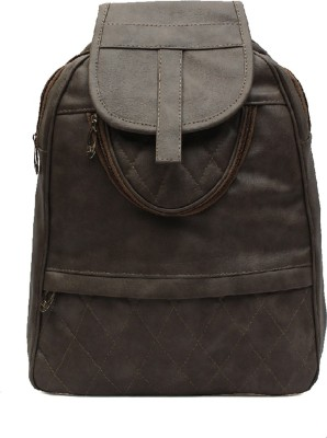 Pochette Men & Women Grey 10 L Backpack