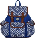Anekaant Monochrome 23 L Backpack (Blue)