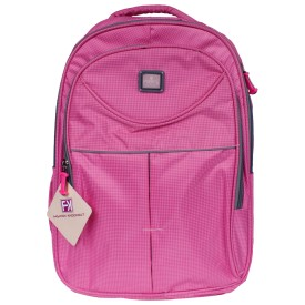 Fashion Knockout Cheakered Pink Candy Rucksack - 15 L