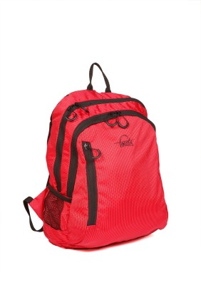 Fausta Red with Black Hexagon 15 L Backpack
