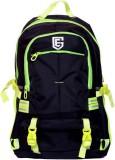 EG HST 35 L Laptop Backpack (Black, Red)