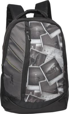 Zwart SERINT 25 L Medium Backpack(Grey and Yellow)