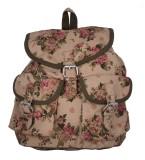 Vogue Tree BEIGEFLORL 5 L Backpack (Beig...