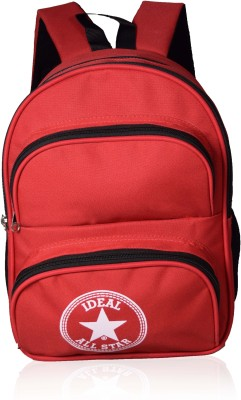 Ideal Mercury Red and Black Kids School 10 L Backpack