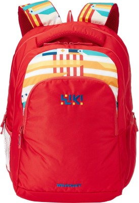 Wildcraft Twist 2 Red 34 L Laptop Backpack