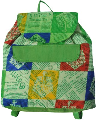 Stylocus Green 0 L Medium Backpack