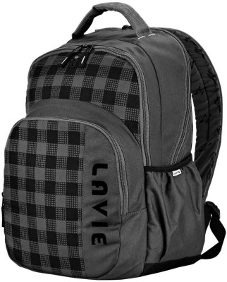 Lavie Alpha Super spacious Backpack(Grey)
