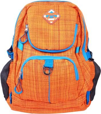 Super Drool Orange Slab Trek and Travel Series 10 L Backpack