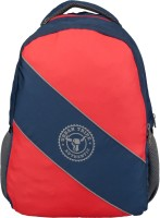 Urban Tribe Roadster Navy Blue-Red Diagonal 30 L Laptop Backpack(Blue-Red)