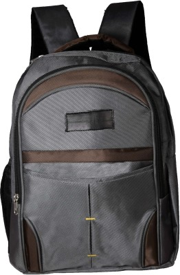 Ideal Elite Promo Grey and Brown 25 L Laptop Backpack