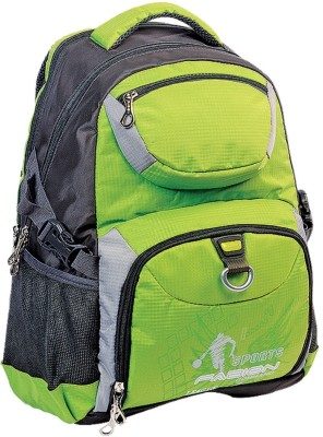 Fabion 1343 Green N Grey 33 L Large Backpack