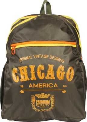 Via Harp Chicago BP Verde 12 L Laptop Backpack