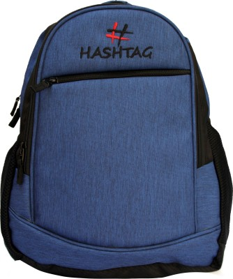 Fashion Knockout Hashtag Simple Blue 5 L Laptop Backpack