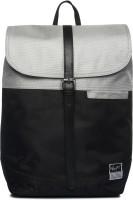 Atorse MONOCHROME 35 L Backpack(Silver, Black)