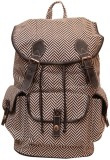 Moac BP032 Medium Backpack (Black, White...