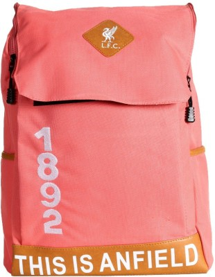 Liverpool FC Orange Polyester 18 L Backpack