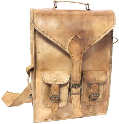 Leather Smith India Leather Smith Handcrafted Backpack 2.5 L Backpack