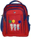 Clubb 1181 6 L Backpack (Red, Blue)