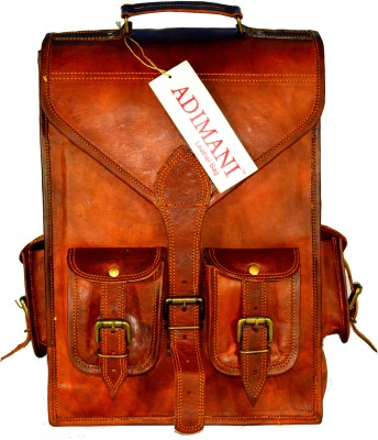 Adimani Vivc Vintage 15 L Laptop Backpack
