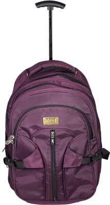 Ideal Purple 25 L Trolley Backpack
