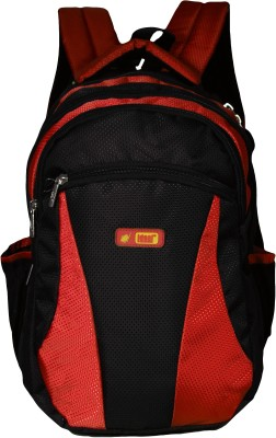 Ideal Elantra Red and Black 25 L Laptop Backpack