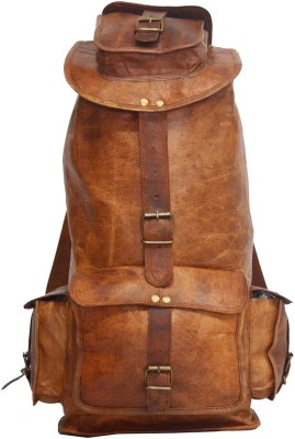 Hide 1858 Digital Rajasthan Genuine Leather Rucksack Bag 67.1214 L Backpack