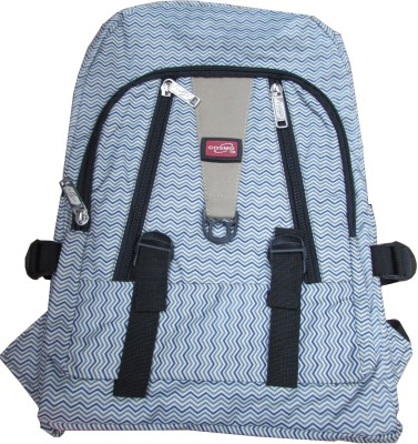 Cosmo Grey Soft Double Compartment Daypack 4.5 L Backpack