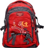 Hashtag Snazee 3.8 L Backpack (Red, Blac...