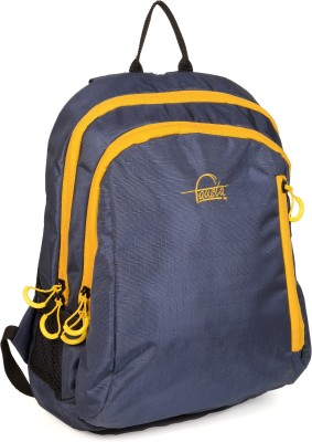 Fausta Blue with Yellow 15 L Backpack