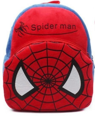 HMS Boy Toddler Kid Child Kindergarten Plush Doll School Bag Backpack Hero Spiderman 2 L Backpack