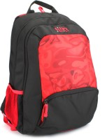 Wildcraft Anchor Red 32 L Trolley Backpack(Black, Red)